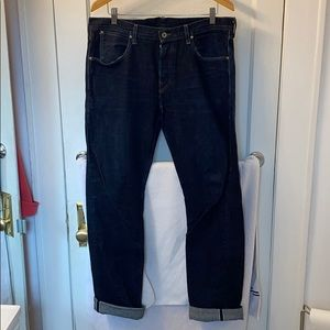 Wallace & Barnes indigo dyed selvedge denim jeans